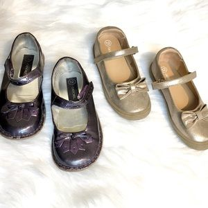 Two Pairs Dressy Shoes Size 12